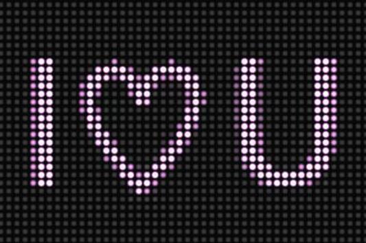 LED Scroller – Bling Bling LED poster