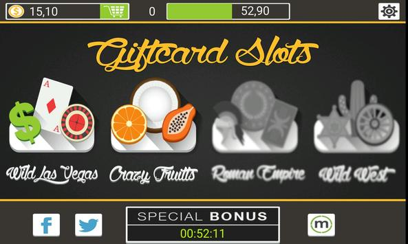 Giftcard Slots screenshot 1