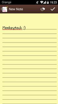Notepad apk screenshot