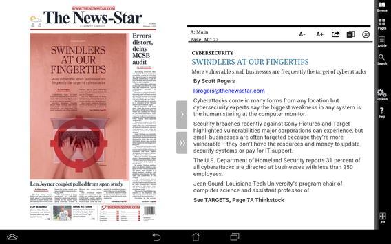 News Star Print Edition apk screenshot