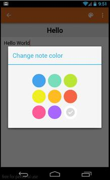 Notes Monster Color apk screenshot