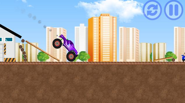 Monster Car Free apk screenshot