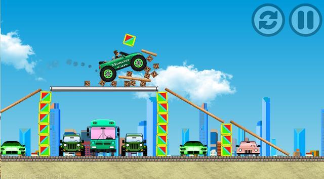 Monster Cars 4 poster