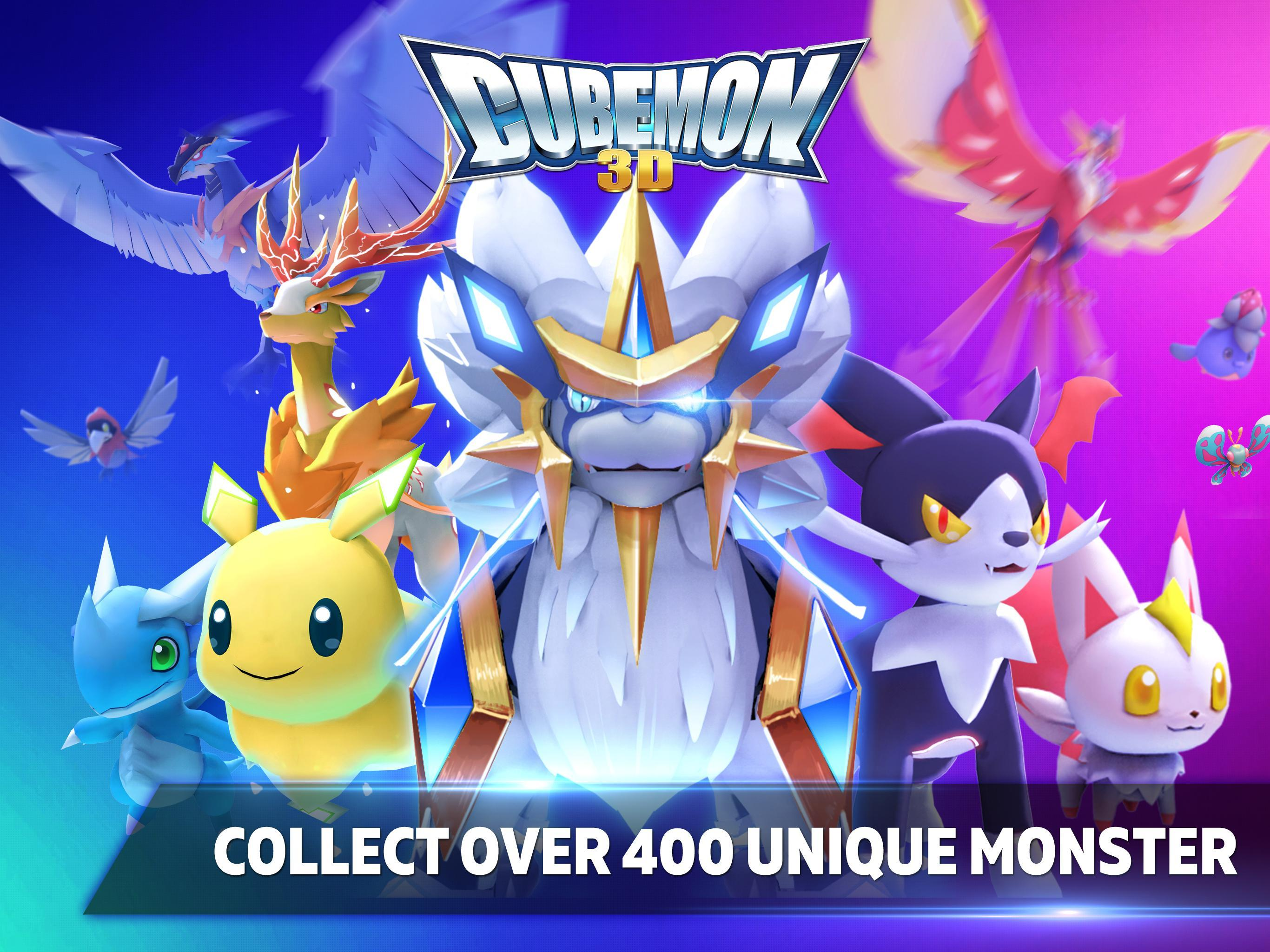Cubemon 3D:MMORPG Monster Game for Android - APK Download