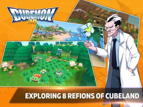 Cubemon 3D:MMORPG Monster Game स्क्रीनशॉट 3