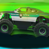 Police Monster Racing icon