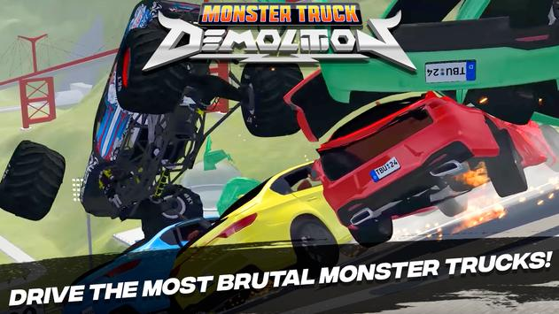 Monster Truck Demolition الملصق