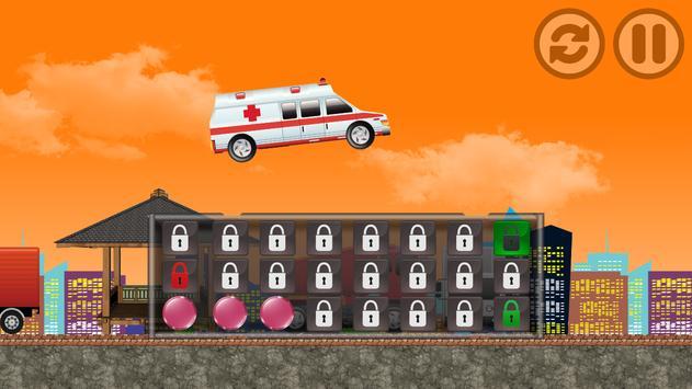 Monster Ambulance Racing apk screenshot