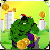 Monster Green Runner icon