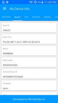 My Device Info pro apk screenshot
