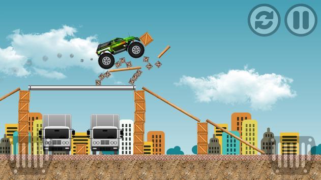Monster Truck Race Car screenshot 2