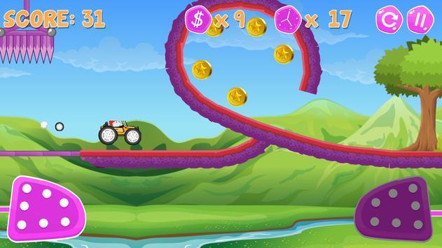 Doraemon Monster Car Racing - Mountain climb screenshot 2