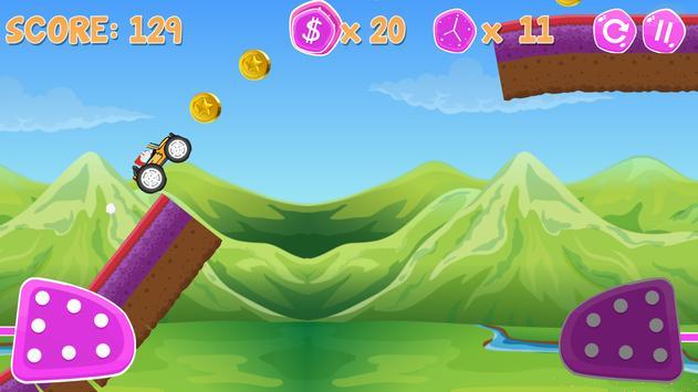 Doraemon Monster Car Racing - Mountain climb screenshot 5