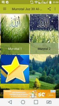 Murottal Juz 30 Al Quran screenshot 4