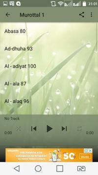 Murottal Juz 30 Al Quran screenshot 8