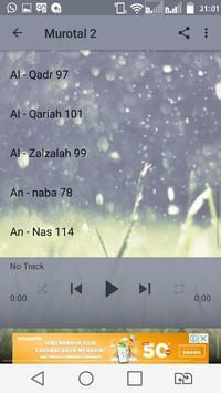 Murottal Juz 30 Al Quran screenshot 1