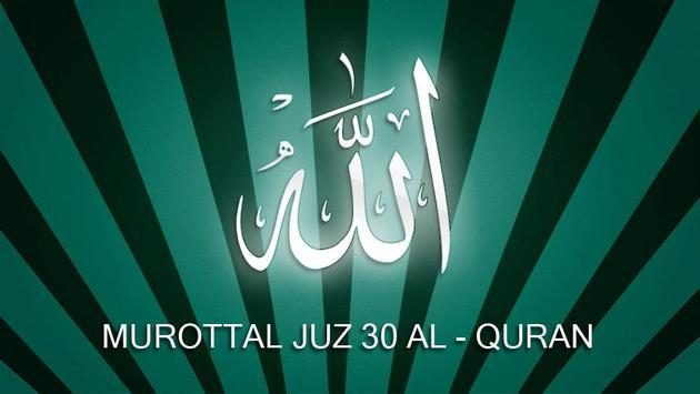 Murottal Juz 30 Al Quran screenshot 2