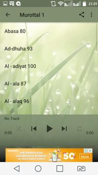 Murottal Juz 30 Al Quran screenshot 3
