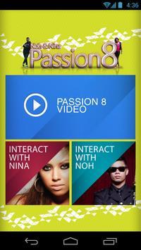 Noh & Nina Passion8 poster