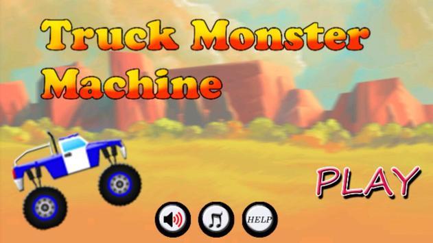 Truck Monster Machine poster