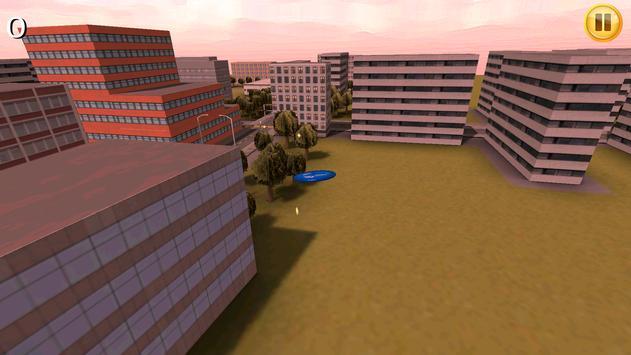 UFO Frisbee — Flying Saucer 3D apk screenshot