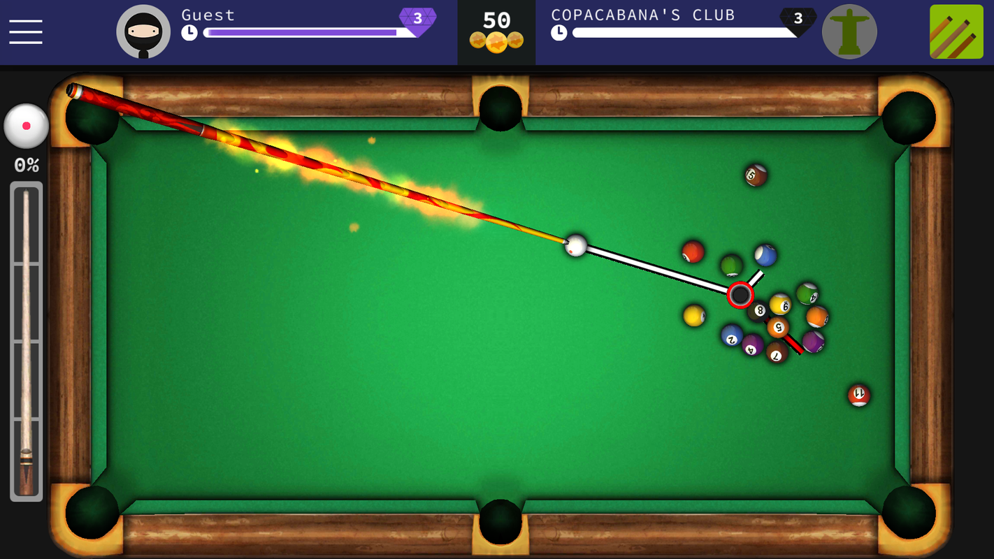 8 Ball Pool Clash Free Online Billiards Poster