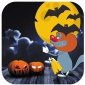 Oggy Halloween icon