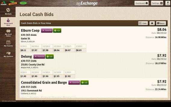 agExchange screenshot 1