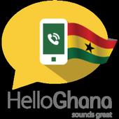 Call Ghana, Let's call icon