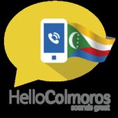 Hello Comoros, Let's call icon
