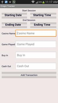 Craps Tracker screenshot 19