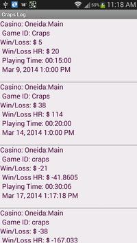 Craps Tracker screenshot 20