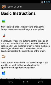 Touch Of Color apk screenshot