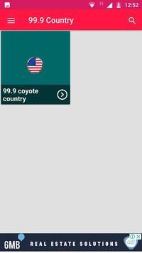 99.9 Country Radio Washington Radio Stations Apps poster