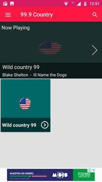99.9 Country Radio Minnesota Radio Stations Music screenshot 1