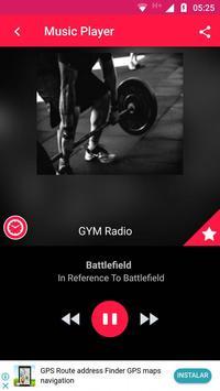 Gym Radio Workout Music App Gym Workout Music Free poster