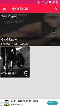Gym Radio Workout Music App Gym Workout Music Free screenshot 1