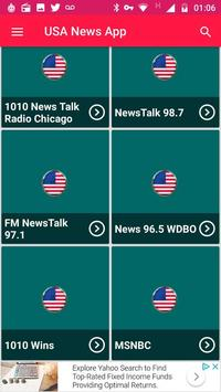 News Radio Apps For Free Usa News Radio Online App poster