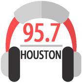 Radio Station 95.7 Houston Radio App Online 95.7 icon
