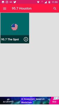 Radio Station 95.7 Houston Radio App Online 95.7 poster