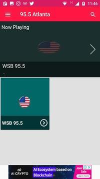 95.5 Radio Station Atlanta Radio Free Station App screenshot 2