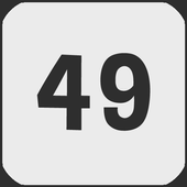 Number 49 icon