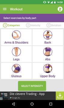 ZINA BeFit (fitness workouts) apk screenshot