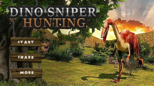 Dino Sniper Hunting: Jungle 3D poster