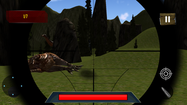 Dino Sniper Hunting: Jungle 3D screenshot 3