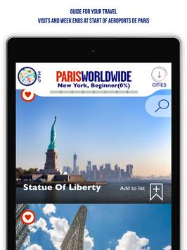 Paris Worldwide - Official Paris Airports App poster