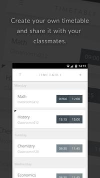 Orary - School Timetable poster
