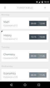 Orary - School Timetable apk screenshot