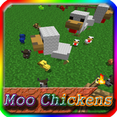 Mo Chickens MCPE Mod Guide icon