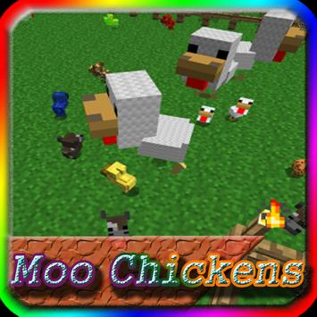 Mo Chickens MCPE Mod Guide screenshot 1